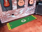 Green Bay Packers NFL Logo Putting Mat