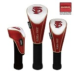 Florida State Seminoles Nylon Graphite Golf Set of 3 Headcovers