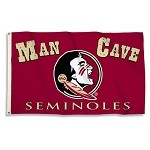 Florida State Seminoles Man Cave 3 Ft. X 5 Ft. Flag W/ 4 Grommets