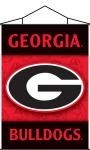 Georgia Bulldogs Indoor Banner Scroll