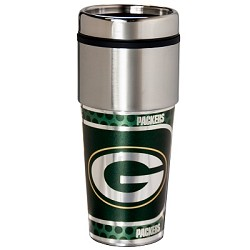 Green Bay Packers Stainless Steel Travel Tumbler