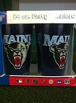 Maine Black Bears Set of 2 Wincraft Party Tumblers