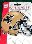 New Orleans Saints Fan Wave