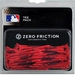 Cleveland Indians 50 Zero Friction Golf Tee Pack