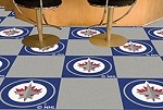 Winnipeg Jets NHL Carpet Tiles