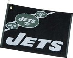 New York Jets Jacquard NFL Golf Towel