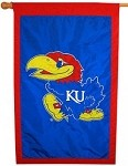 Kansas Jayhawks 28x44 Flag