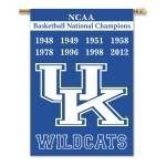 Kentucky Wildcats Champ Years 2-Sided 28