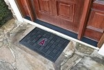 Los Angeles Angels MLB 19x30 Rubber Door Mat