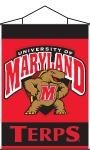 Maryland Terrapins Indoor Banner Scroll