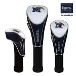 Memphis Tigers Nylon Graphite Golf Set of 3 Headcovers
