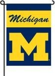 Michigan Wolverines 2-Sided Garden Flag