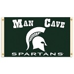 Michigan State SpartansMan Cave 3 Ft. X 5 Ft. Flag W/ 4 Grommets