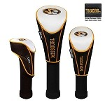Missouri Tigers Nylon Graphite Golf Set of 3 Headcovers