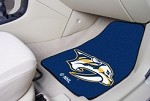 Nashville Predators NHL Two Piece Car Mat