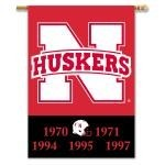 Nebraska Cornhuskers 2-Sided 28