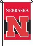 Nebraska Cornhuskers 2-Sided Garden Flag