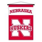 Nebraska Cornhuskers Indoor Banner Scroll
