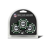 New York Jets NFL Set of 3 Poker Chips