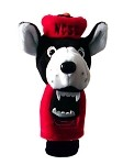 North Carolina State Wolf Pack Mascot Golf Headcover