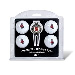 North Carolina State Wolf Pack 4 Ball Divot Tool Golf Gift Set
