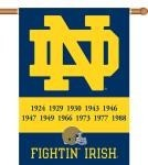 Notre Dame Champ Years 2-Sided 28