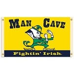 Notre Dame Fighting IrishMan Cave 3 Ft. X 5 Ft. Flag W/ 4 Grommets
