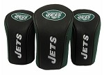New York Jets Set of Three Mesh Headcovers
