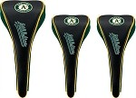 Oakland Athletics Magnetic Set of 3 Golf Club Head Covers