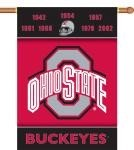 Ohio State Buckeyes Champ Years 2-Sided 28