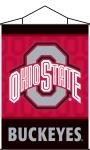 Ohio State Buckeyes Indoor Banner Scroll