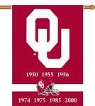 Oklahoma Sooners Champ Years 2-Sided 28