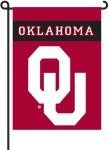 Oklahoma Sooners 2-Sided Garden Flag