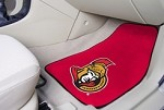 Ottawa Senators NHL Two Piece Car Mat