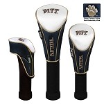Pittsburgh Panthers Nylon Graphite Golf Set of 3 Headcovers