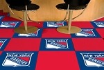 New York Rangers NHL Carpet Tiles