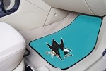 San Jose Sharks NHL Two Piece Car Mat
