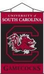 South Carolina Gamecocks Indoor Banner Scroll