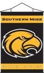 Southern Miss Golden Eagles Indoor Banner Scroll
