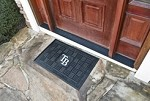 Tampa Bay Rays MLB 19x30 Rubber Door Mat