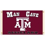 Texas A&M AggiesMan Cave 3 Ft. X 5 Ft. Flag W/ 4 Grommets