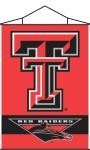 Texas Tech Red Raiders Indoor Banner Scroll