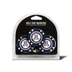 Arizona Wildcats 3 Pack Poker Chip