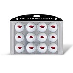 Arkansas Razorbacks Dozen Pack Balls