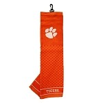 Clemson Tigers Embroidered Golf Towel