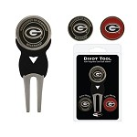 Georgia Bulldogs Golf Divot Tool Set