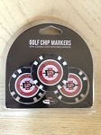 James Madison Dukes 3 Pack Poker Chip