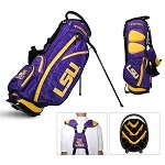 LSU Tigers Golf Fairway Stand Bag