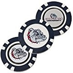Gonzaga Bulldogs 3 Pack Poker Chip