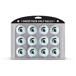 Michigan State Spartans Dozen Pack Balls